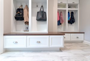 Mudroom Bench and Storage