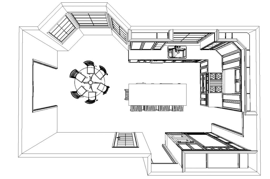 Kitchen Open floorplan