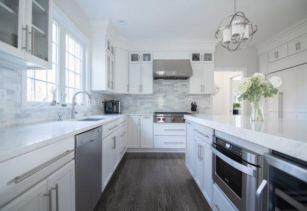 Nice White Cabinet Kitchen